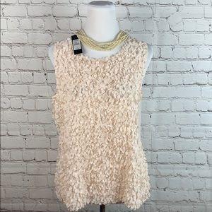 New Talbots Women's Pink Sleeveless Blouse Size 10